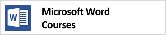 Microsoft Word Courses